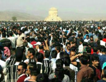 ifmat - Iran security forces blocking roads to prevent Cyrus day gathering