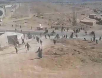 ifmat - Iran security forces violently attack landfill protesters