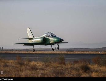 ifmat - Iran unveils first homegrown combat jet trainer