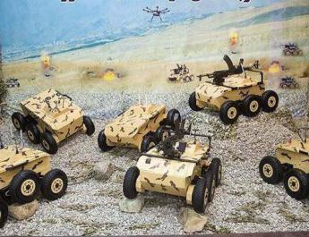 ifmat - Iran unveils new tank-killing ground drones