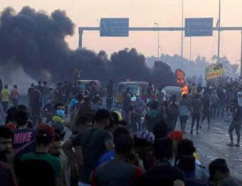 ifmat - Iranian officials growing concerned about Iraqi protests