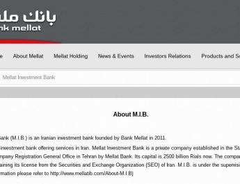 ifmat - Mellat Investment Bank - Bank Mellat