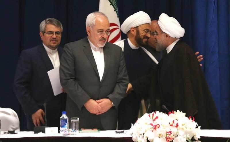 ifmat - Ali Elahi meeting Iranian President Hassan Rouhani New York September 2016