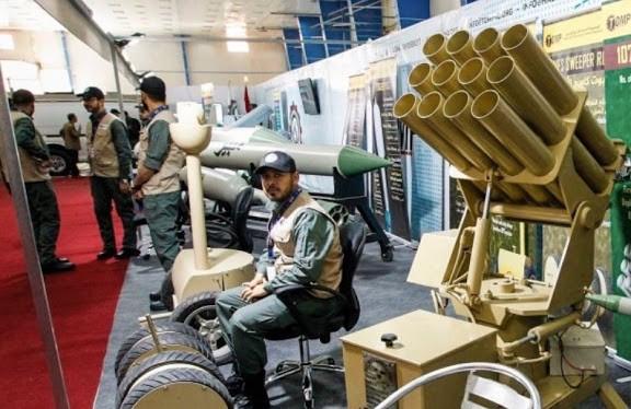 ifmat - Iran and allied Iraqi PMF at IQDEX2017 5