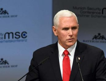 ifmat - Mike Pence condemns violence against Iran protests