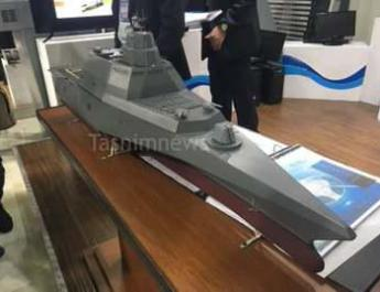 ifmat - Future Iranian stealth warship looks a lot like US navy LCS