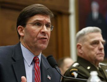 ifmat - Pentagon chief urges Iraq to stop attacks on bases housing US forces