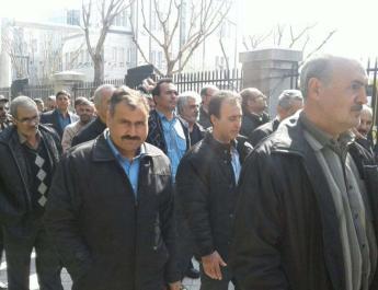 ifmat - Tehran Bus company workers condemn Iran crackdown