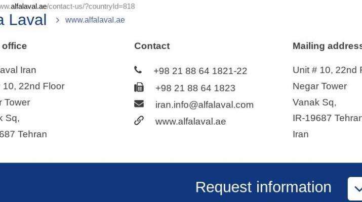 ifmat - Alfa Laval Iran