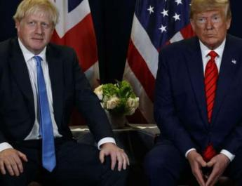ifmat - Boris Johnson says Trump deal should replace Iran deal