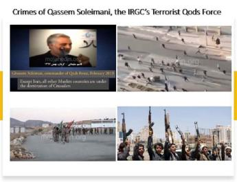 ifmat - Crimes of terrorist Qassem Soleimani