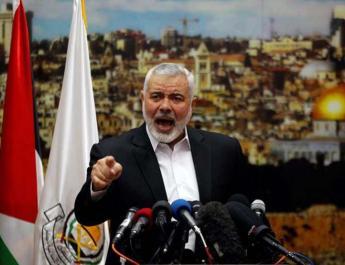 ifmat - Hamas leader speaks at Qassem Solemanis funeral