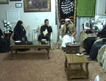ifmat - Houthi ambassador to Iran visits Soleimani family