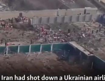 ifmat - How Russian TV covered Iran about Ukrainian airliner