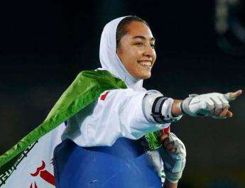 ifmat - Iran only female Olympic medalist moving to Germany