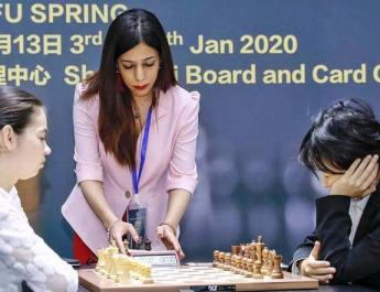 ifmat - Iranian chess referee fears return to Tehran over hijab row