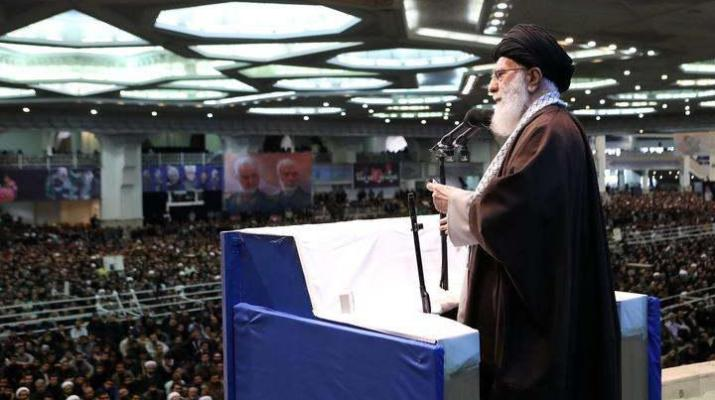 ifmat - Khamenei defends armed forces in rare address