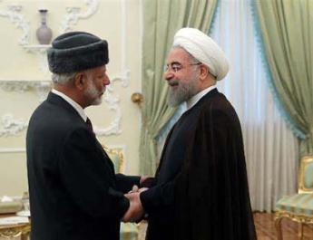 ifmat - Oman foreign minister in Iran for 2nd visit