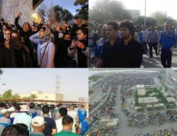 ifmat - Protestsa across Iran by different social classes