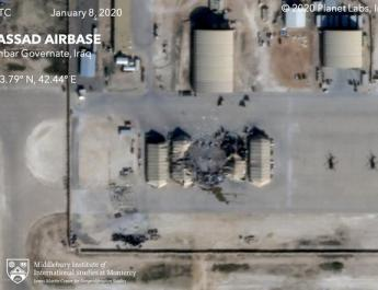 ifmat - Satellite photos reveal extent of damage from Iranian strike on Air Base in Iraq