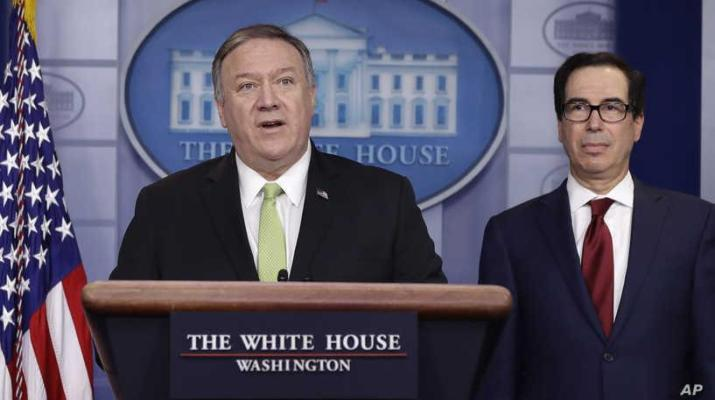 ifmat - US Imposes New Sanctions on Iran