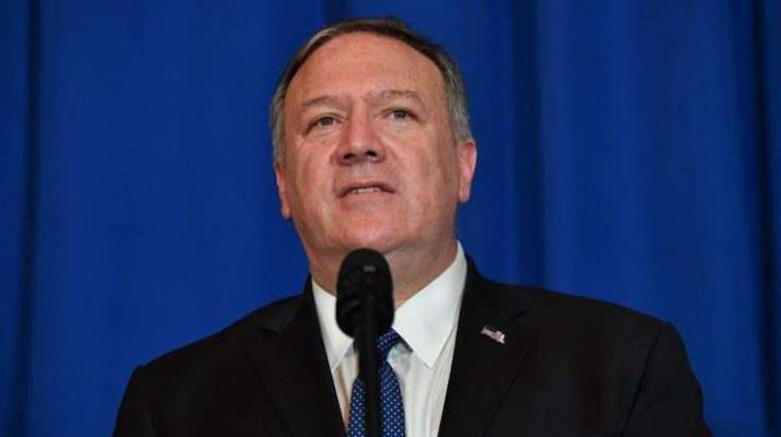ifmat - Pompeo slams democrats for secret meeting with top Iranian official