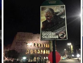 ifmat - Pro-Assad activists in Italy launch publicity campaign for Soleimani