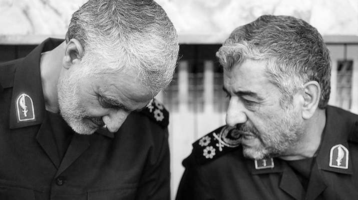 ifmat - Role of general Soleimani in suppressing Iranian people
