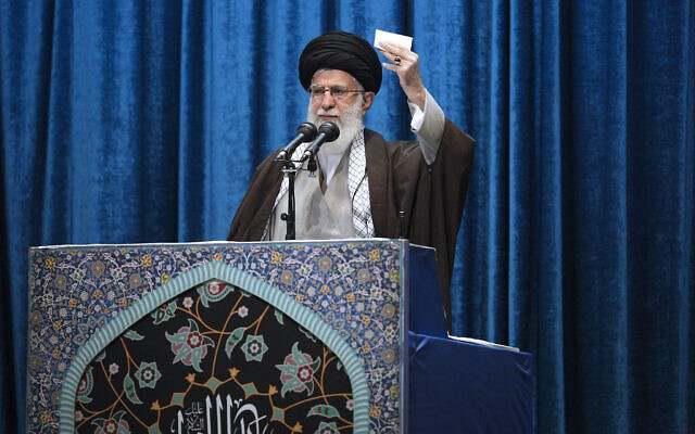 ifmat - Supreme Leader Ali Khamenei vows to continue funding Palestinian terror groups
