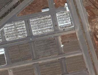 ifmat - Satellite images show Iran has built mass graves