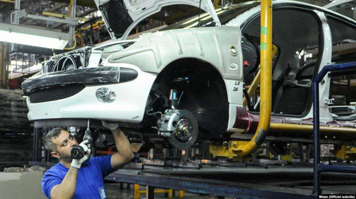 ifmat-Vehicle Production in Iran down 25 percent In 2019
