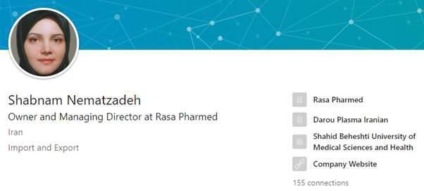 ifmat - Daughter of Mohammad Reza Nematzadeh is hoarding a stock of medication