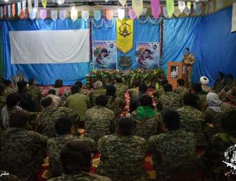 ifmat - Iranian-founded Afghan Shia militia celebrates 7th anniversary in Aleppo