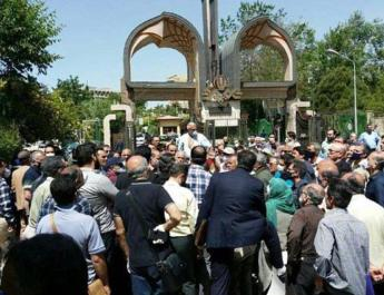 ifmat - Iranians hold 6 protests to demand unpaid wages