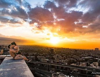ifmat - Parkour star arrested in Iran after posting photos kissing a woman on a rooftop