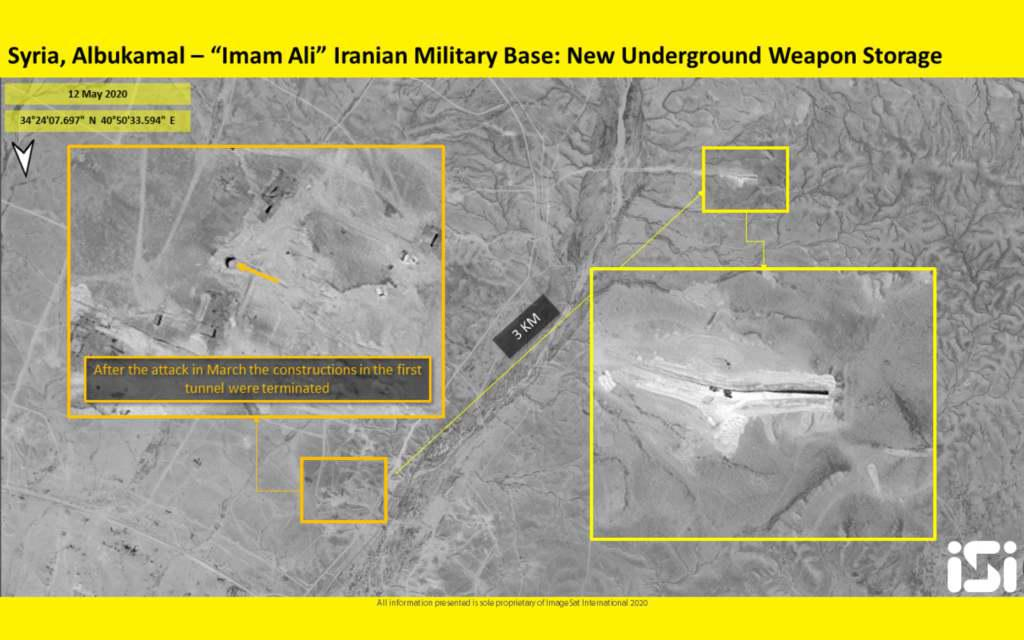ifmat - ifmat - Satellite images appear to show Iran building new weapons storehouse in Syria1
