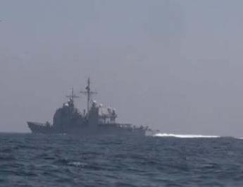 ifmat - Iran builds US naval fleet to destroy in military exercises