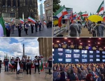 ifmat - Iranians across the world express commitment for a free Iran