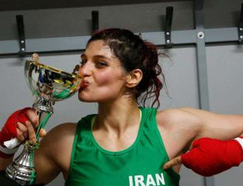 ifmat - Women boxing banned in Iran Khuzestan Province