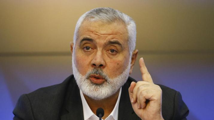 ifmat - Hamas chief receives letter from Khamenei