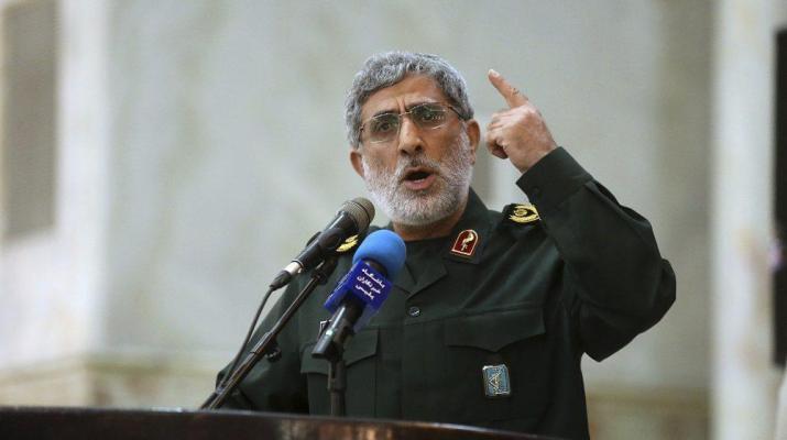 ifmat - Iran Quds Force commander says tough times await Zionist regime