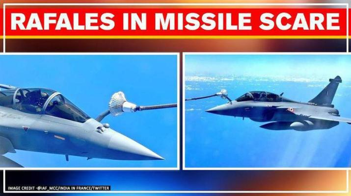 ifmat - Iran missile scare very close to where Indias 5 Rafale halted