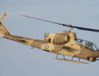 ifmat - Iran unveils new laser-guided missiles for helicopter fleet