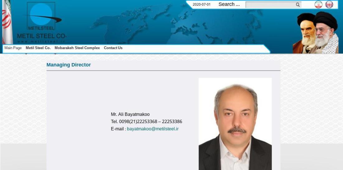 ifmat - Metil Steel Managing Director