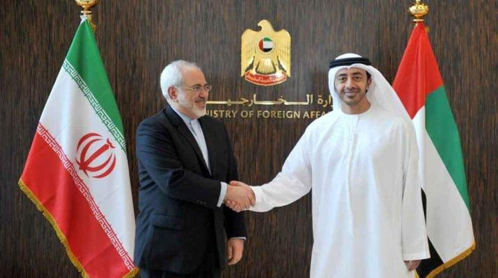 ifmat - UAE strengthening ties with Tehran