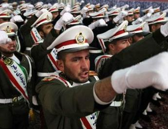 ifmat - Iran displays wrecked US drone that was shot down last year