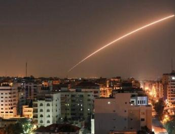 ifmat - Iran fire Missiles on Israel from Gaza