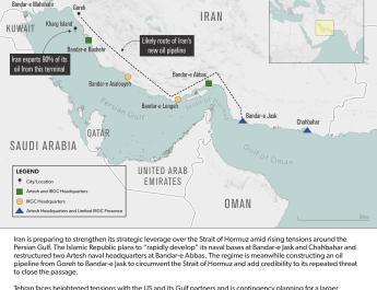 ifmat - The growing Iranian threat around the Strait Of Hormuz