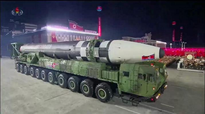 ifmat - Hardliners hail new North Korea ballistic missile as role model