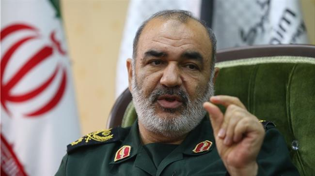 ifmat - IRGC commander visits Karabakh-Iran border after amassing large force